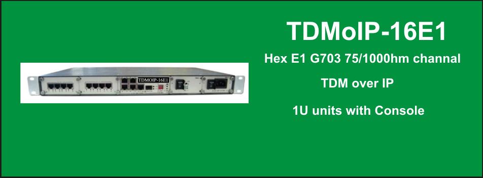 TDMoIP-16E1