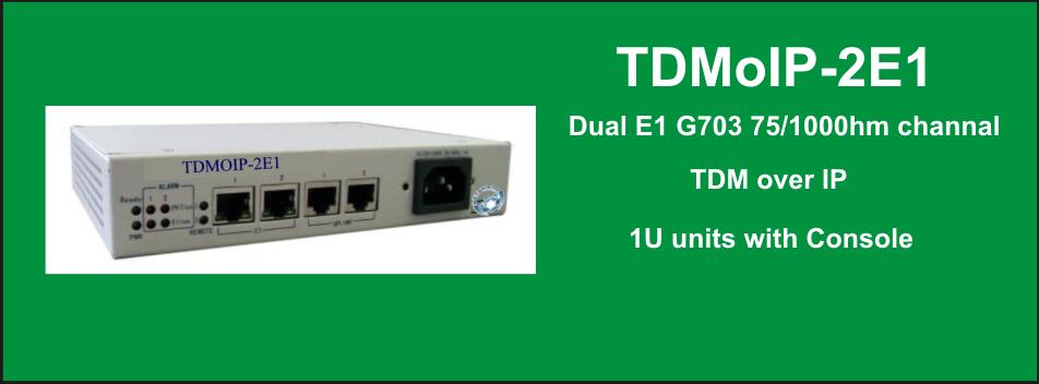 TDMoIP-2E1