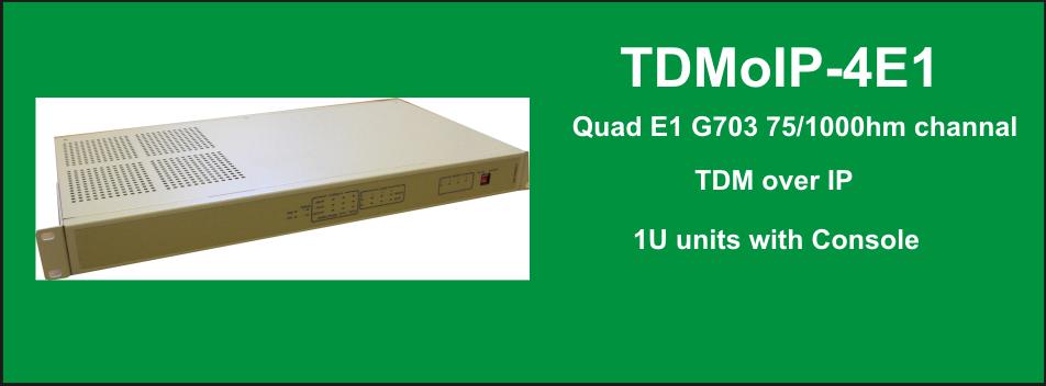 TDMoIP-4E1