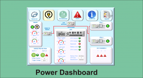 WS dashboard power