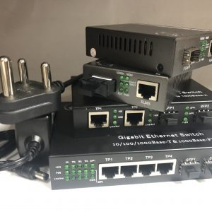 Ethernet Bridging and PoE Media Converters and Chassis