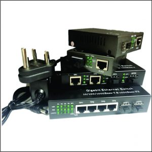 Ethernet Media Converters and Chassis